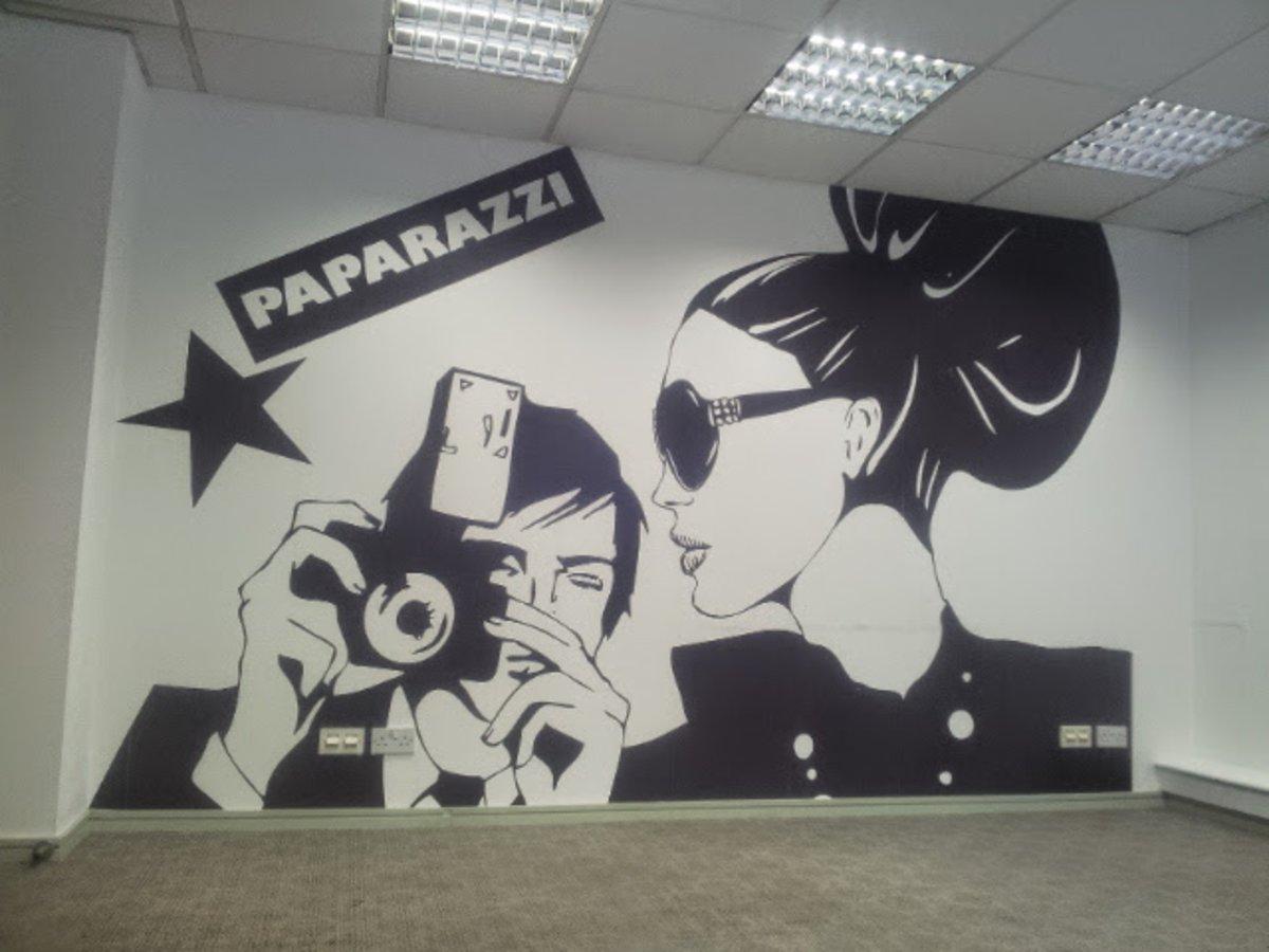 wallpaper, central London