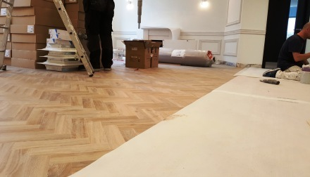 12 Painting and decorating, cental London