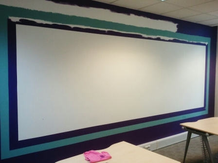 1 office decorating, Golden Cross House, Duncannon St, London WC2N 4JF