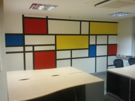 1 office decorating, Soho Square, London, W1D 3QL