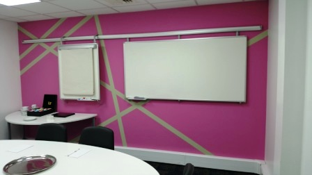 1 office decorating Charlotte Street, London, W1T 2NS