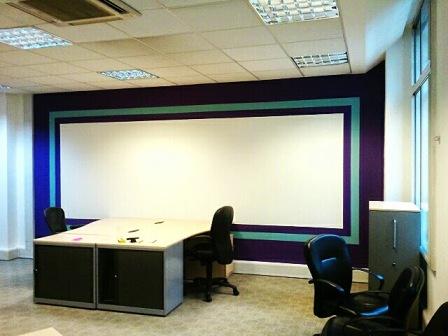 13 office decorating, Golden Cross House, Duncannon St, London WC2N 4JF