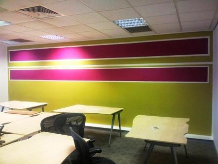 16 office decorating, Golden Cross House, Duncannon St, London WC2N 4JF