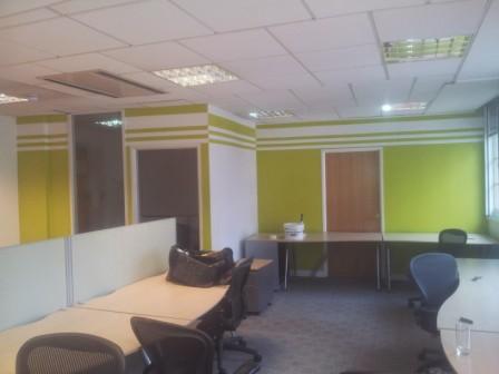 2 office decorating, Golden Cross House, Duncannon St, London WC2N 4JF