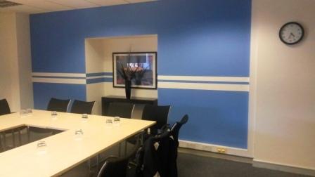 2 office decorating, Greycoat Place, London, SW1P 1SB