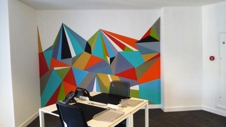 2 office decorating, King William St, London EC4N 7DZ