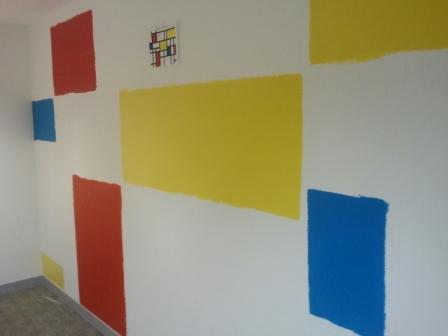 2 office decorating, Soho Square, London, W1D 3QL