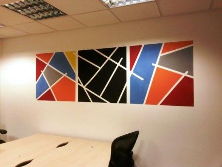23 office decorating, Greycoat Place, London, SW1P 1SB