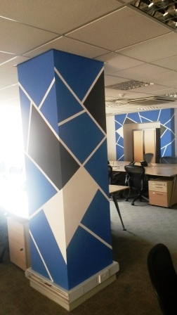 5 office decorating, Greycoat Place, London, SW1P 1SB