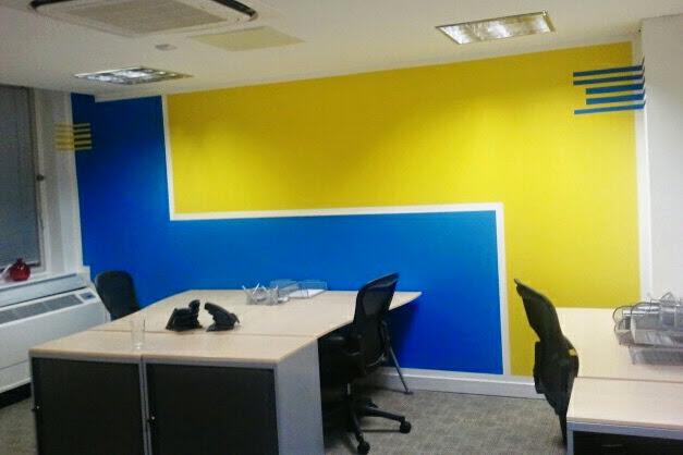 5 office decorating, Soho Square, London, W1D 3QL