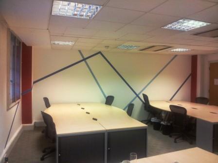6 office decorating, Golden Cross House, Duncannon St, London WC2N 4JF