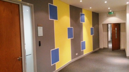 6 office decorating, Greycoat Place, London, SW1P 1SB