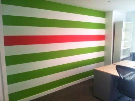 6 office decorating, Soho Square, London, W1D 3QL