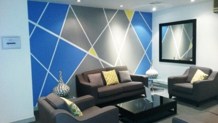7 office decorating, Greycoat Place, London, SW1P 1SB