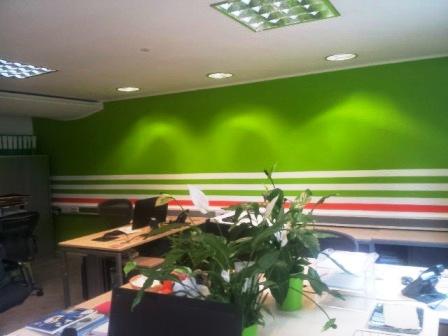 7 office decorating, Soho Square, London, W1D 3QL
