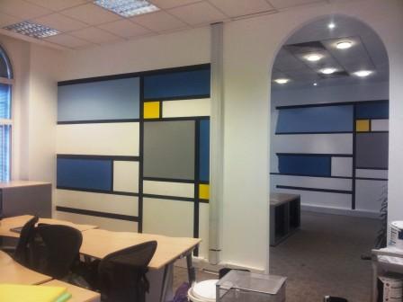 8 office decorating, Golden Cross House, Duncannon St, London WC2N 4JF