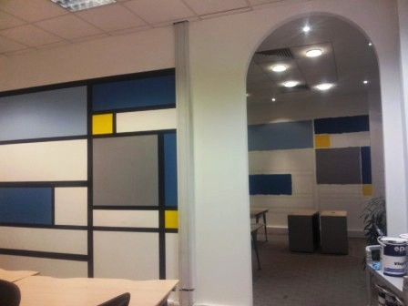 9 office decorating, Golden Cross House, Duncannon St, London WC2N 4JF