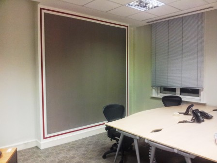 office decorating, Clement's Ln, London EC4N 7AE